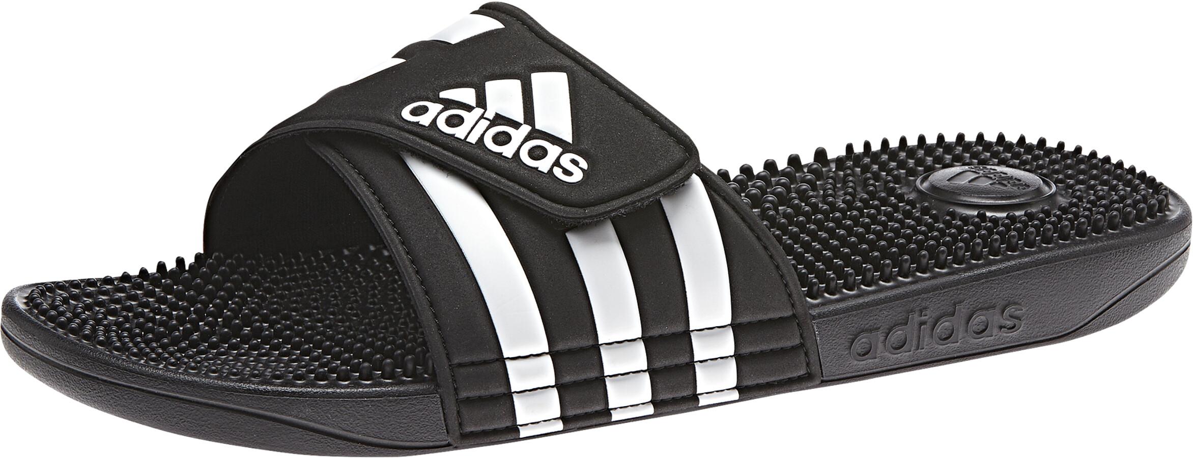 finest selection 56070 2dc18 adidas Adissage - Chaussures de plage Homme - noir